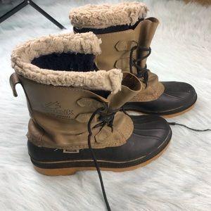 Kamik KW2000 Duck Boots Snow Wool Insulated Men 9